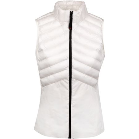 Golf undefined FIRE + ICE Womens Pepi Vest White - SS19 made by Bogner