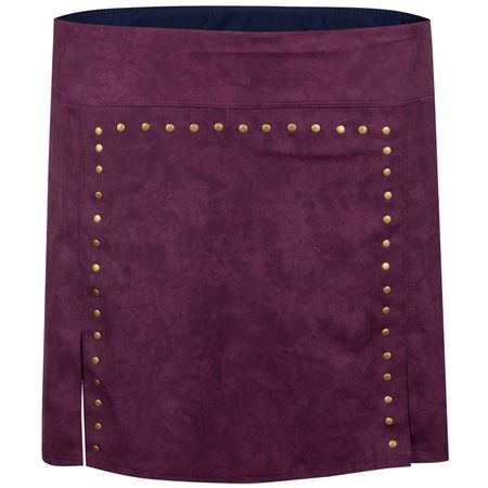 Golf undefined Womens Rockstud Skirt Ruby Wine - 2019 made by Foray Golf
