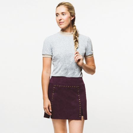 Skirt Womens Rockstud Skirt Ruby Wine - 2019 Foray Golf Picture