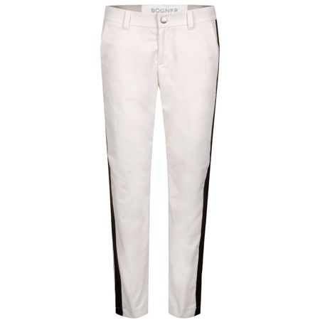 Golf undefined Womens Malea Side Stripe Trousers White - SS19 made by Bogner