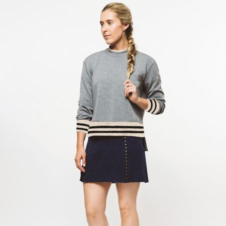 Hoodie Womens Rockstud Layering Grey Marl - 2019 Foray Golf Picture
