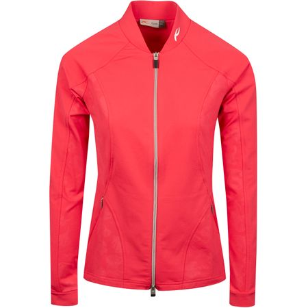 Golf undefined Womens Nicola Midlayer Jacket Rouge Red - SS19 made by Kjus