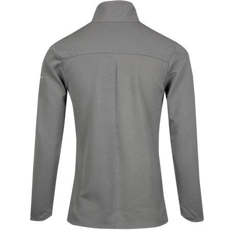 MidLayer Womens Dry UV Quarter Zip Mid Dark Grey/White - SS19 Nike Golf Picture