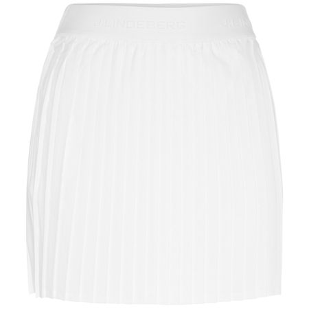 Skirt Womens Chloe Skirt Light Poly White - SS19 J.Lindeberg Picture