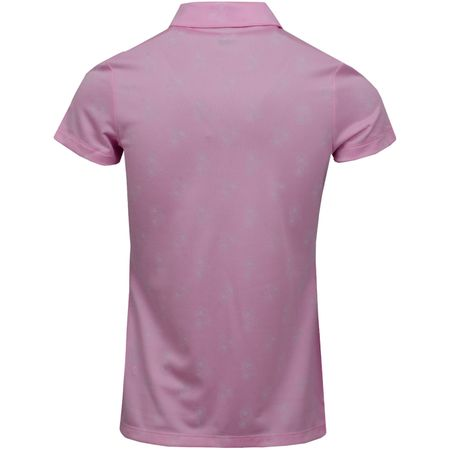 Golf undefined Womens Burst Into Bloom Polo Pale Pink - SS19 made by Puma Golf
