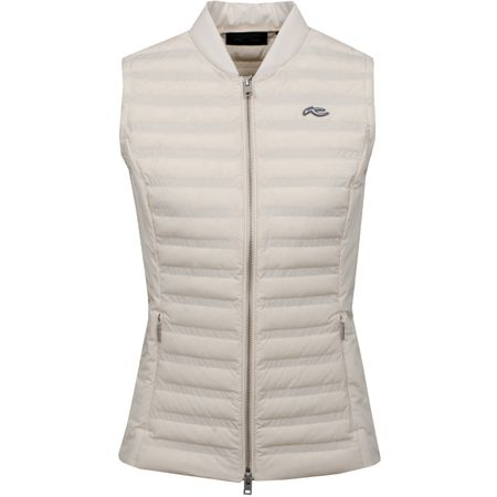 Golf undefined Womens Bellavista Vest Buttercream - 2019 made by Kjus