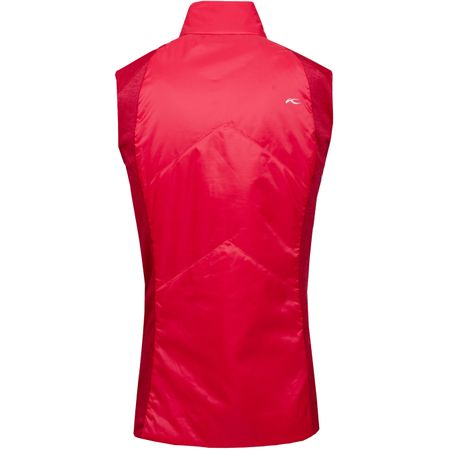 Golf undefined Womens Radiation Vest Rouge Red - SS201919 made by Kjus