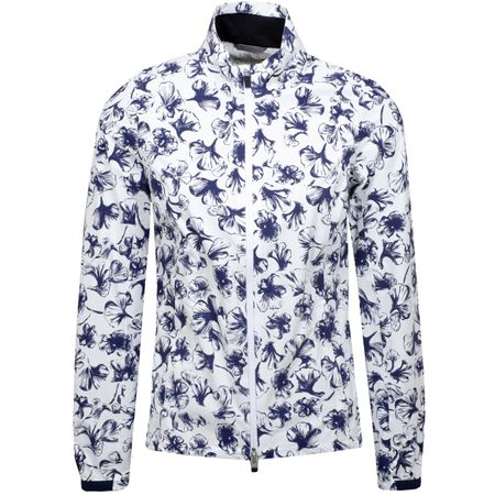 Golf undefined Womens Dextra 2.5L Printed Jacket Atlanta Blue/White - SS19 made by Kjus