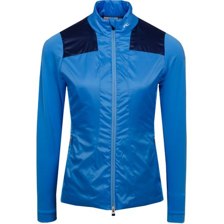 Golf undefined Womens Retention Jacket Azure Blue/Atlanta Blue - SS19 made by Kjus