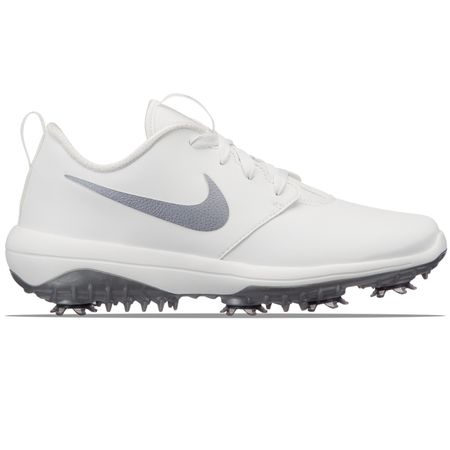 Shoes Womens Roshe Golf Tour Summit White/Metallic Grey - 2019 Nike Golf Picture