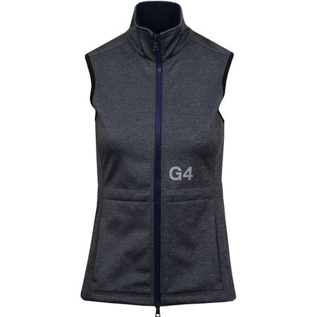 Golf undefined Womens Tech Fleece Vest Heather Grey - SS19 made by G/FORE