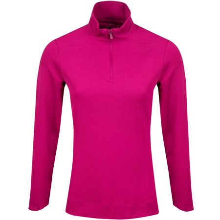 Golf undefined Womens Dry UV Quarter Zip Mid True Berry - SS19 made by Nike Golf
