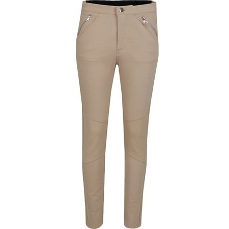 Golf undefined Womens Ponte Moto Pants Stone - SS19 made by G/FORE