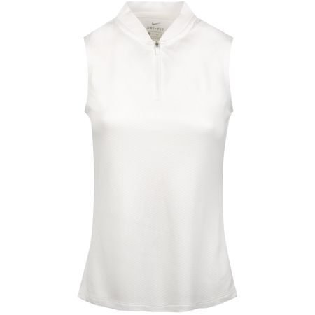 Polo Womens Dry Blade Sleeveless Polo White - SS19 Nike Golf Picture