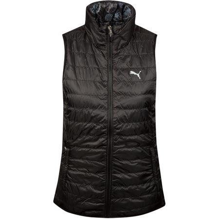 Golf undefined Womens PWRWARM Reversible Vest Puma Black - SS19 made by Puma Golf