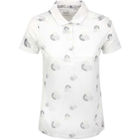 Golf undefined Womens Blossom Polo Bright White/Quarry - SS19 made by Puma Golf