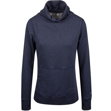 Golf undefined Womens Brisk Pullover Peacoat Heather - SS19 made by Puma Golf