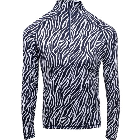 Golf undefined Womens Zebra Printed Tech 1st Layer Twilight - SS19 made by G/FORE