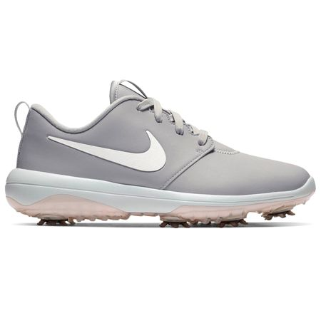 Shoes Womens Roshe Golf Tour Wolf Grey/Metallic White - SS19 Nike Golf Picture