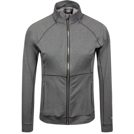 Jacket Womens Vented Jacket Dark Grey Heather - SS19 Puma Golf Picture