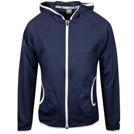 Golf undefined Womens Zephyr Jacket Peacoat - SS19 made by Puma Golf