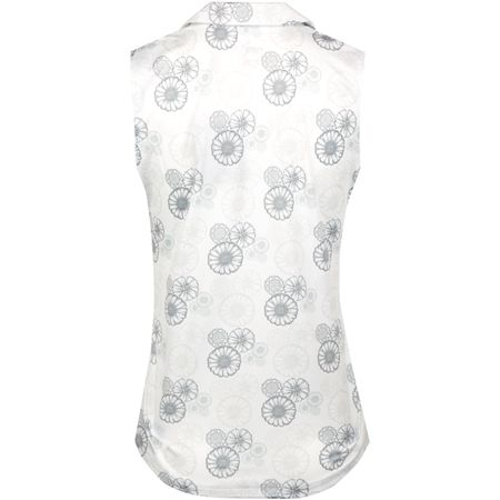 Polo Womens Blossom Sleeveless Polo Bright White/Quarry - SS19 Puma Golf Picture