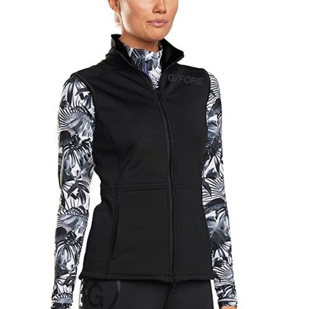 Golf undefined Womens Tech Fleece Vest Onyx - AW18 made by G/FORE