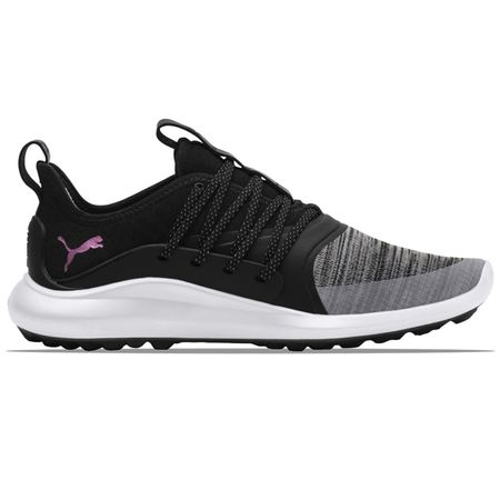 Shoes Womens Ignite NXT Solelace Puma Black/Metallic Pink - 2019 Puma Golf Picture