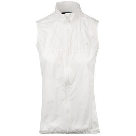 Jacket Womens Lilly Trusty Vest White - SS19 J.Lindeberg Picture
