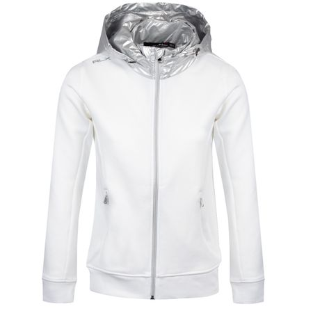 Golf undefined Womens Double Knit Hoodie Pure White - SS19 made by Polo Ralph Lauren