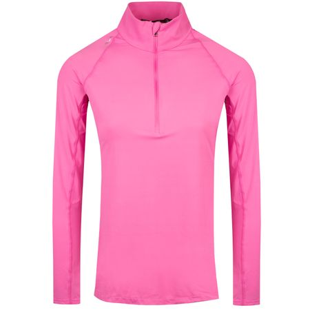 Golf undefined Womens UV Protection Quarter Zip Maui Pink - SS19 made by Polo Ralph Lauren