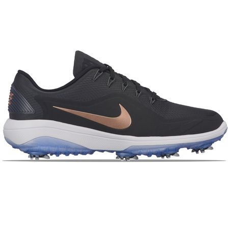 Shoes Womens React Vapor II Black/Metallic Red Bronze - W18 Nike Golf Picture