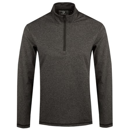 MidLayer Core Half Zip Layering Charcoal - 2018 Foray Golf Picture