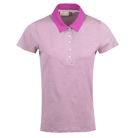 Golf undefined Womens Sina SS Polo Willow Herb/White - AW18 made by Kjus