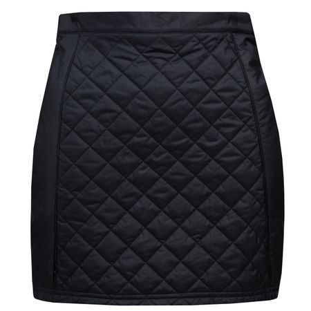 Golf undefined Womens Jade Quilted Nylon Skirt JL Navy - AW18 made by J.Lindeberg