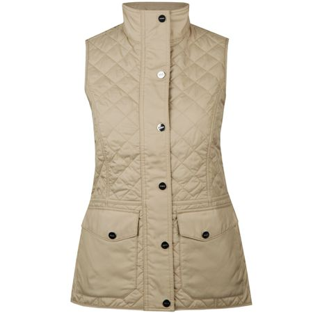 Jacket Womens Heritage Quilted Vest Dune Tan - AW18 Polo Ralph Lauren Picture