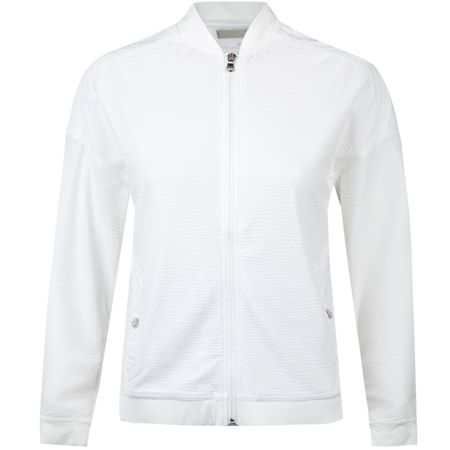 Golf undefined Womens Seersucker Jacket Pure White - AW18 made by Polo Ralph Lauren