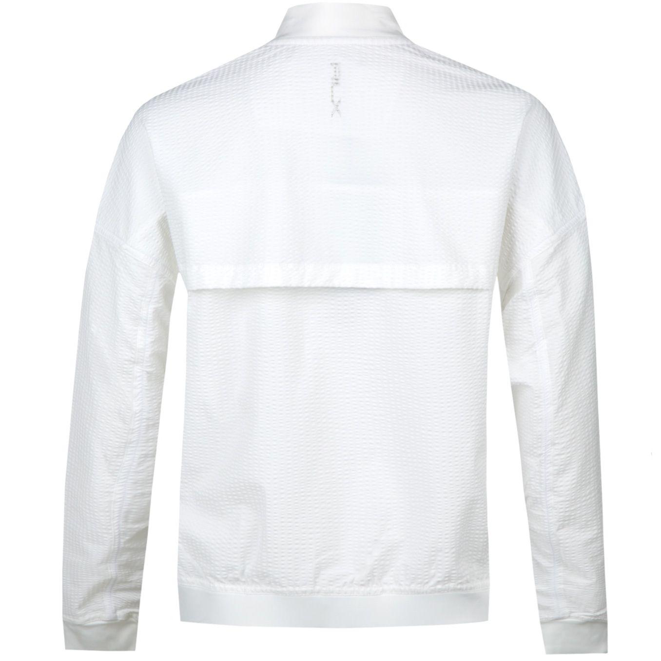 Womens Seersucker Jacket Pure White Aw18 Jacket Polo Ralph
