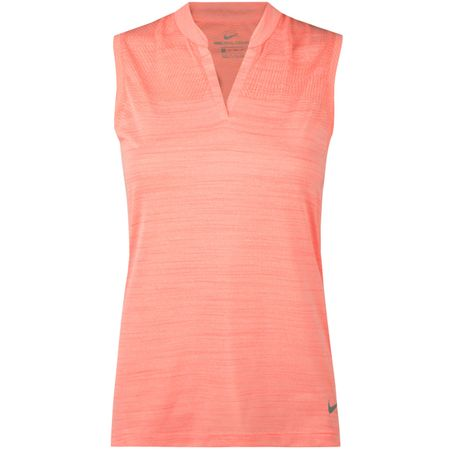 Golf undefined Womens Zonal SL Polo Light Atomic Pink made by Nike Golf