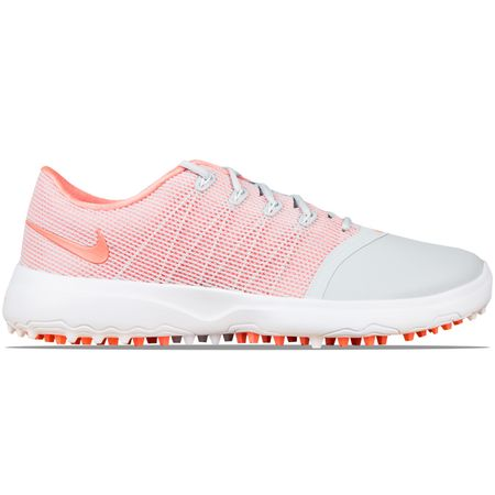 Golf undefined Womens Lunar Empress 2 Pure Platinum/Light Atomic Pink made by Nike Golf