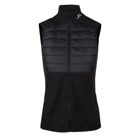 Jacket Womens Hybrid Vest Mixed Poly Black - 2019 J.Lindeberg Picture