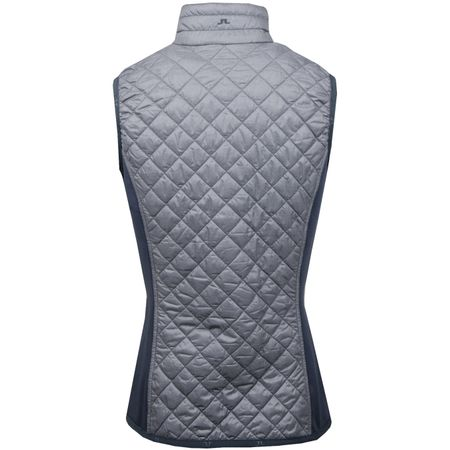 Golf undefined Womens Atna Hybrid Vest Grey Melange made by J.Lindeberg