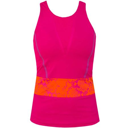 Shirt Womens Run Climacool Tank Glow Pink Adidas Golf Picture