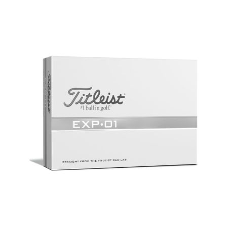 Golf Ball EXP•01 made by Titleist