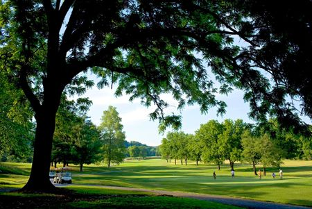 Overview of golf course named Bella Vista Property Owners Association - Kingswood Course