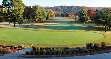 Overview of golf course named Bella Vista Property Owners Association - Berksdale Course