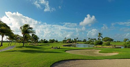Overview of golf course named Iberostar Cancun Golf Club