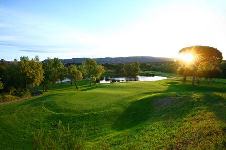 Overview of golf course named Saint Endreol Golf and Spa