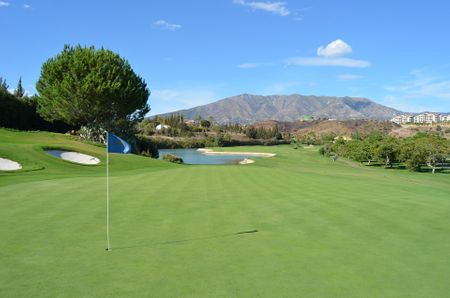Overview of golf course named Club Campo de Golf de Melilla