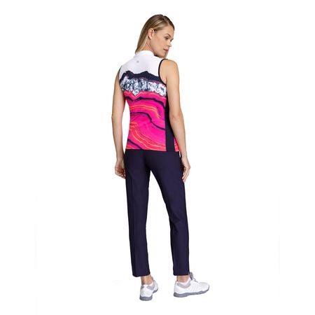 Golf undefined Gem Group: Adia Sleeveless Quartz Print Top made by Tail Activewear